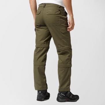 Khaki Peter Storm Men's Ramble II Double Zip Off Trousers