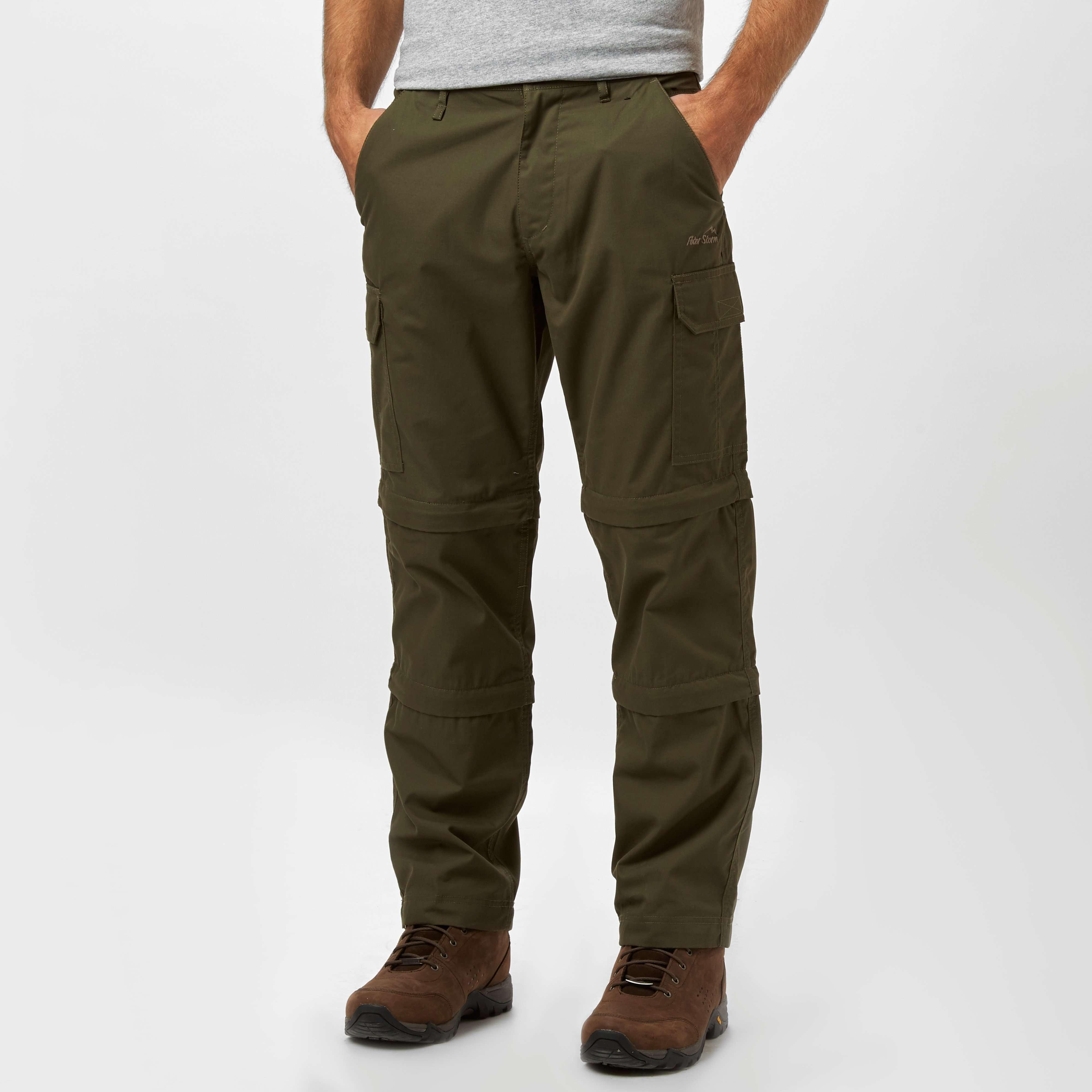 PETER STORM Men's Ramble II Double Zip-Off Trousers