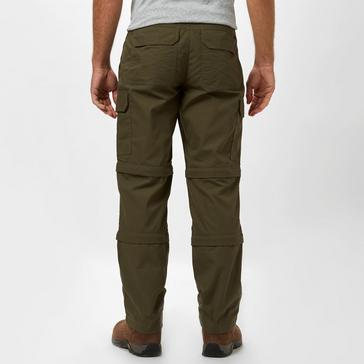 Khaki Peter Storm Men's Ramble II Double Zip-Off Trousers