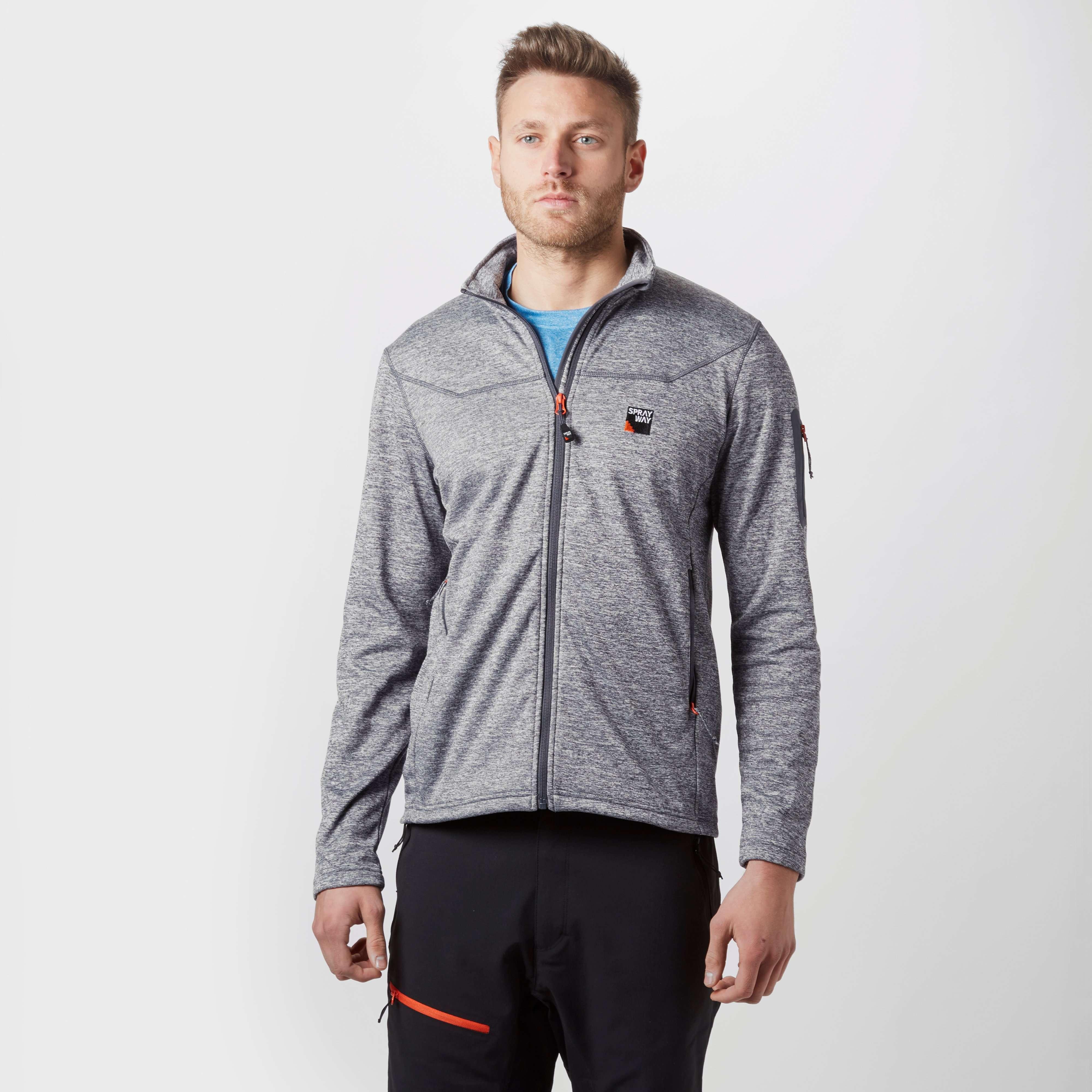 SPRAYWAY Men's Potrero Full Zip Fleece