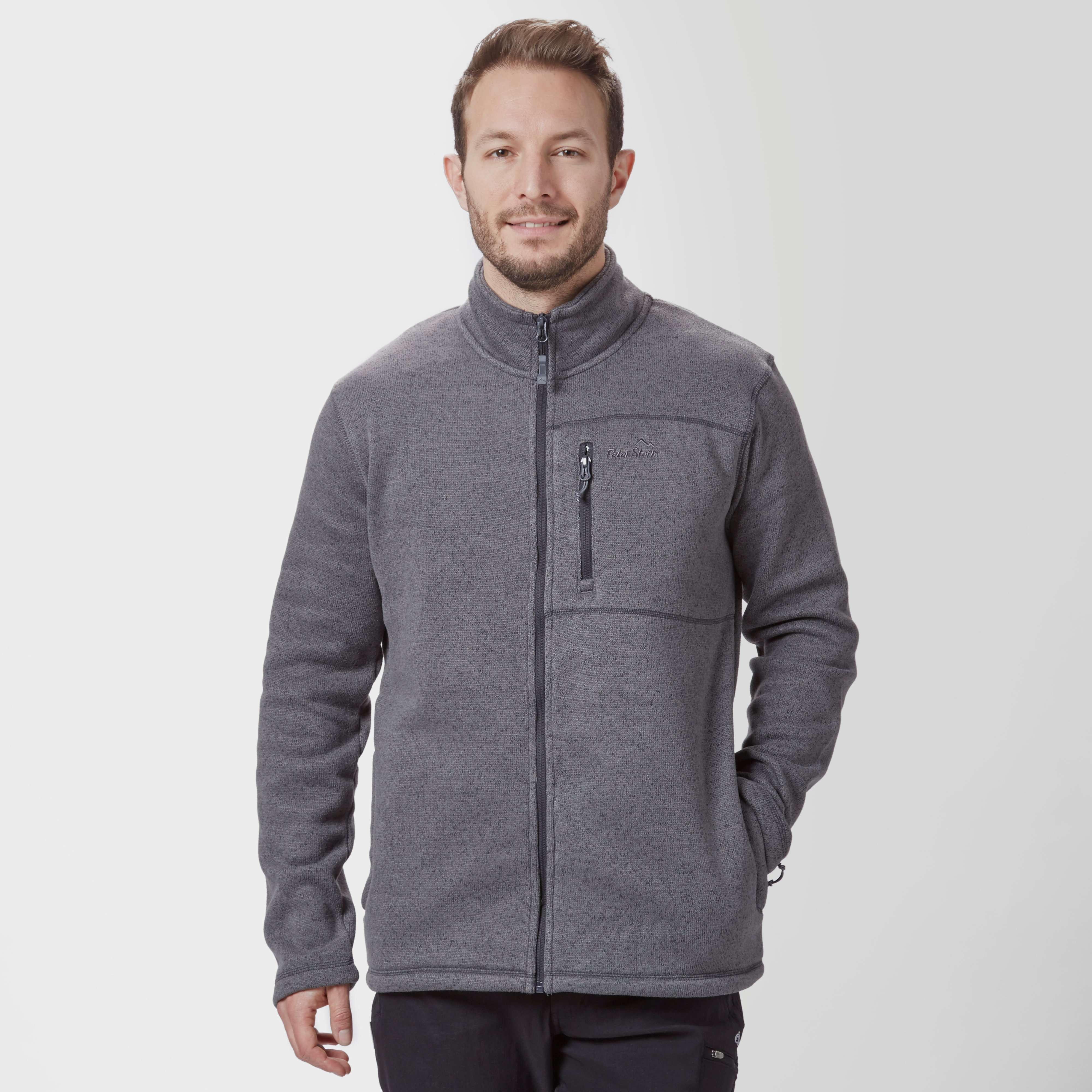 PETER STORM Men's Knit Full-Zip Fleece