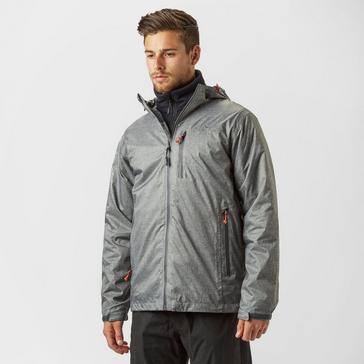 Grey|Grey Peter Storm Men's Tornado Waterproof Jacket