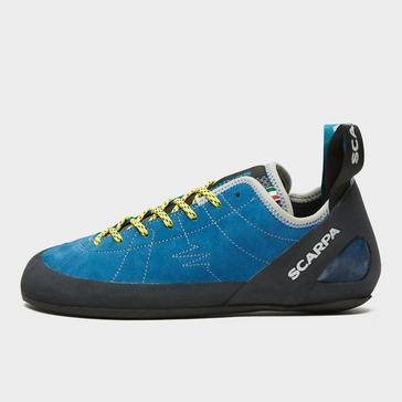Blue Scarpa Men's Helix Climbing Shoe