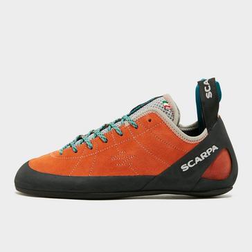 Orange Scarpa Women's Helix Climbing Shoes