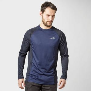 PETER STORM Men's Long Sleeve Zip Tech T-Shirt