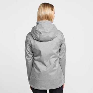Grey|Grey Peter Storm Women's Glide Marl Waterproof Jacket
