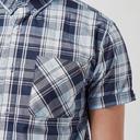 Navy Regatta Men's Efan Short Sleeve Shirt image 5