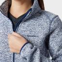 Blue BRASHER Women's Rydal Full Zip Fleece image 3