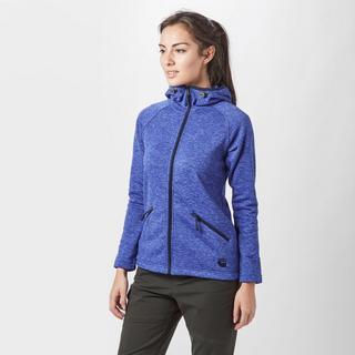 Women's Marble Full Zip Fleece Hoodie