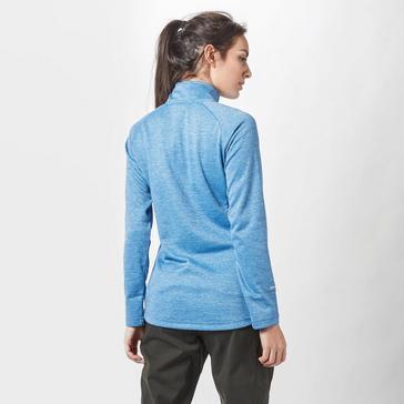 Mid Blue Sprayway Women's Roche Quarter Zip Fleece