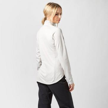 Grey Sprayway Women's Roche Quarter Zip Fleece