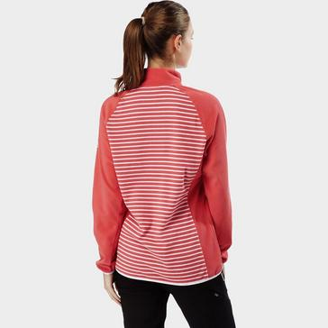 Pink Craghoppers Women's Tilly Quarter-Zip Fleece
