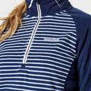 Navy CRAGHOPPERS Women's Tilly Quarter-Zip Fleece image 4