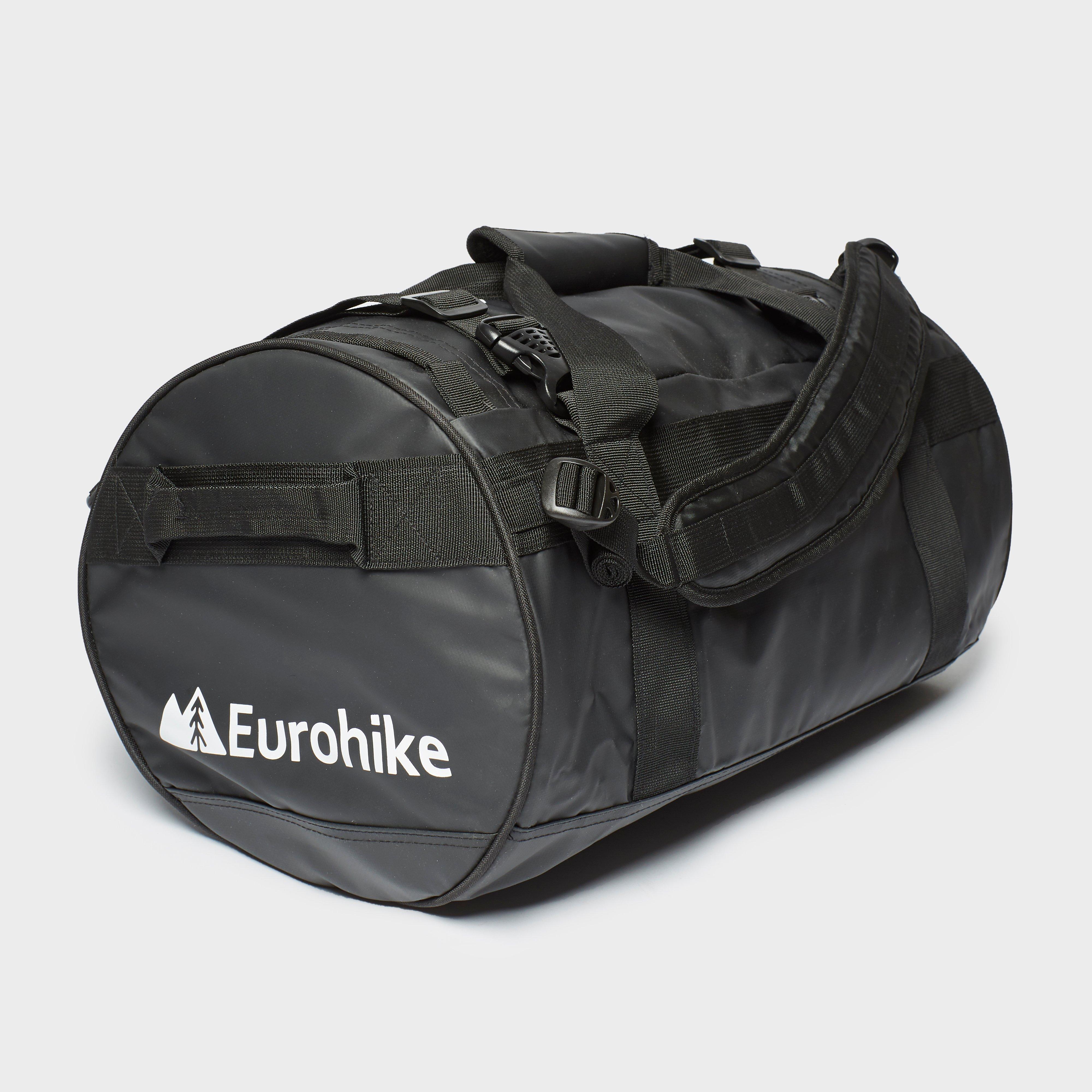 Eurohike Eurohike Transit 40 Hybrid Duffel Bag - Black, Black