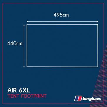 Black Berghaus Air 6 XL Footprint