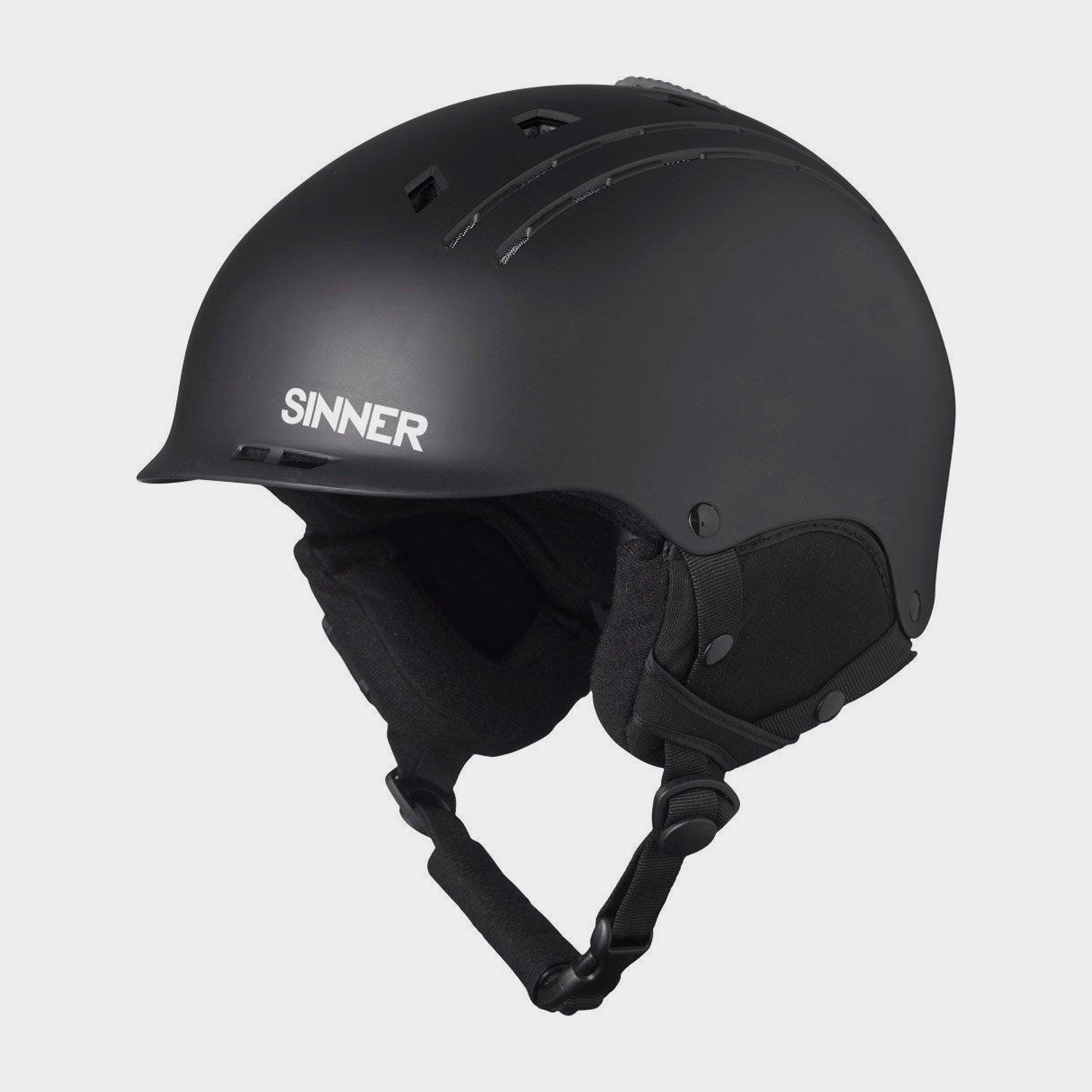 Sinner Sinner Pincher Helmet - Black, Black