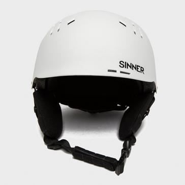 White Sinner Pincher Helmet