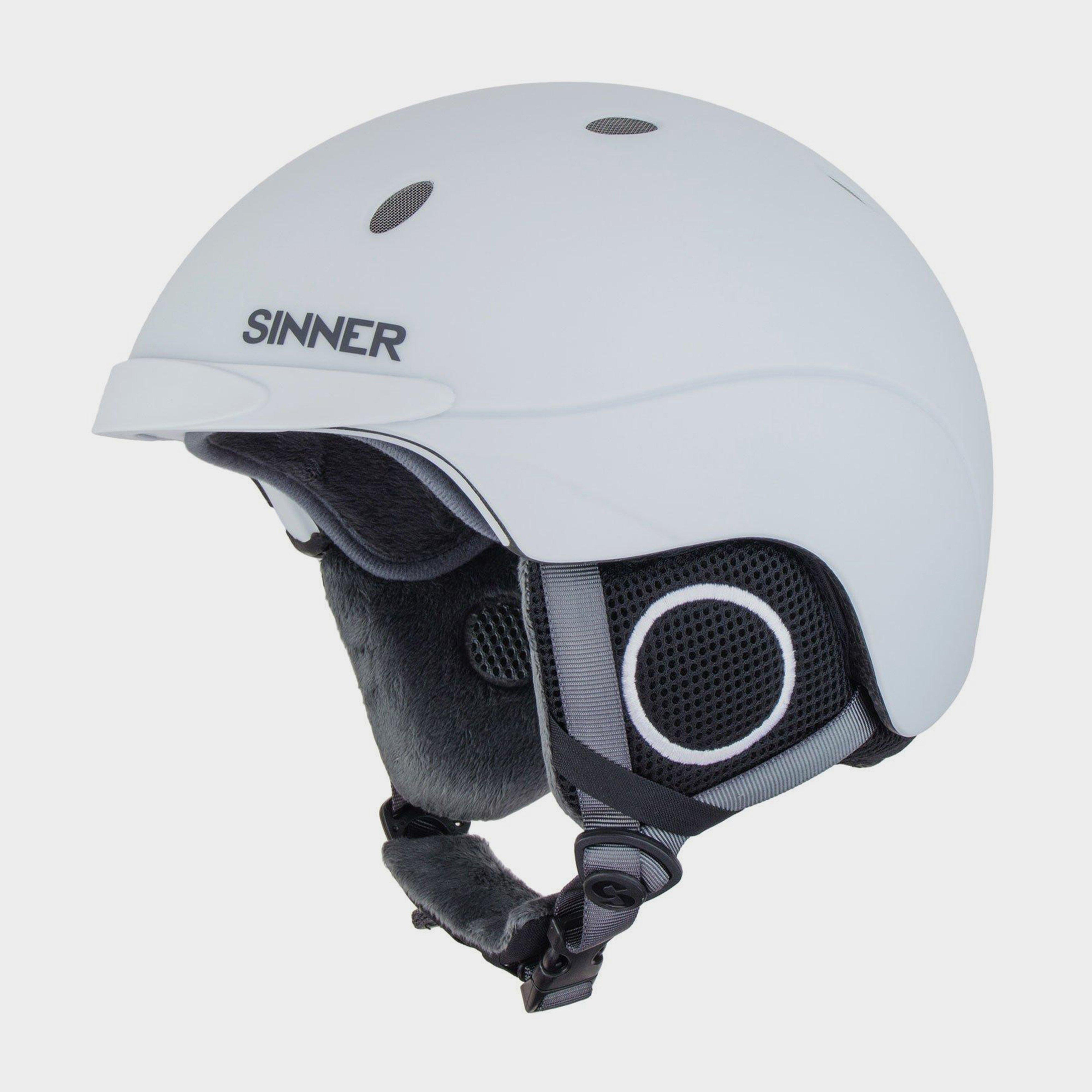 Sinner Sinner Titan Helmet - White, White