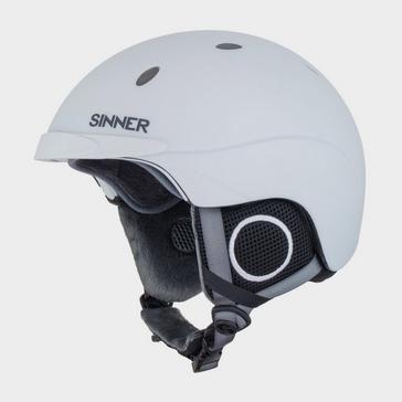 White Sinner Titan Ski Helmet