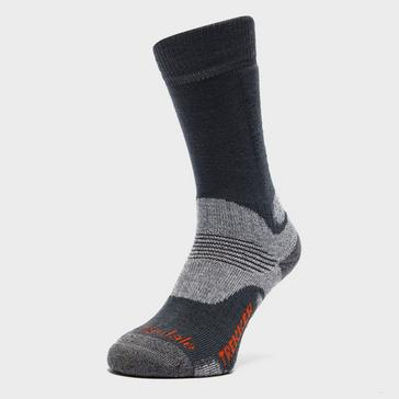 Mid Grey Bridgedale Women's Woolfusion® Trekker Socks