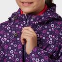 Navy Peter Storm Kids' Waterproof Patterned Jacket image 5