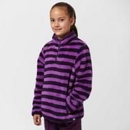 Girls Teddy Stripe Fleece