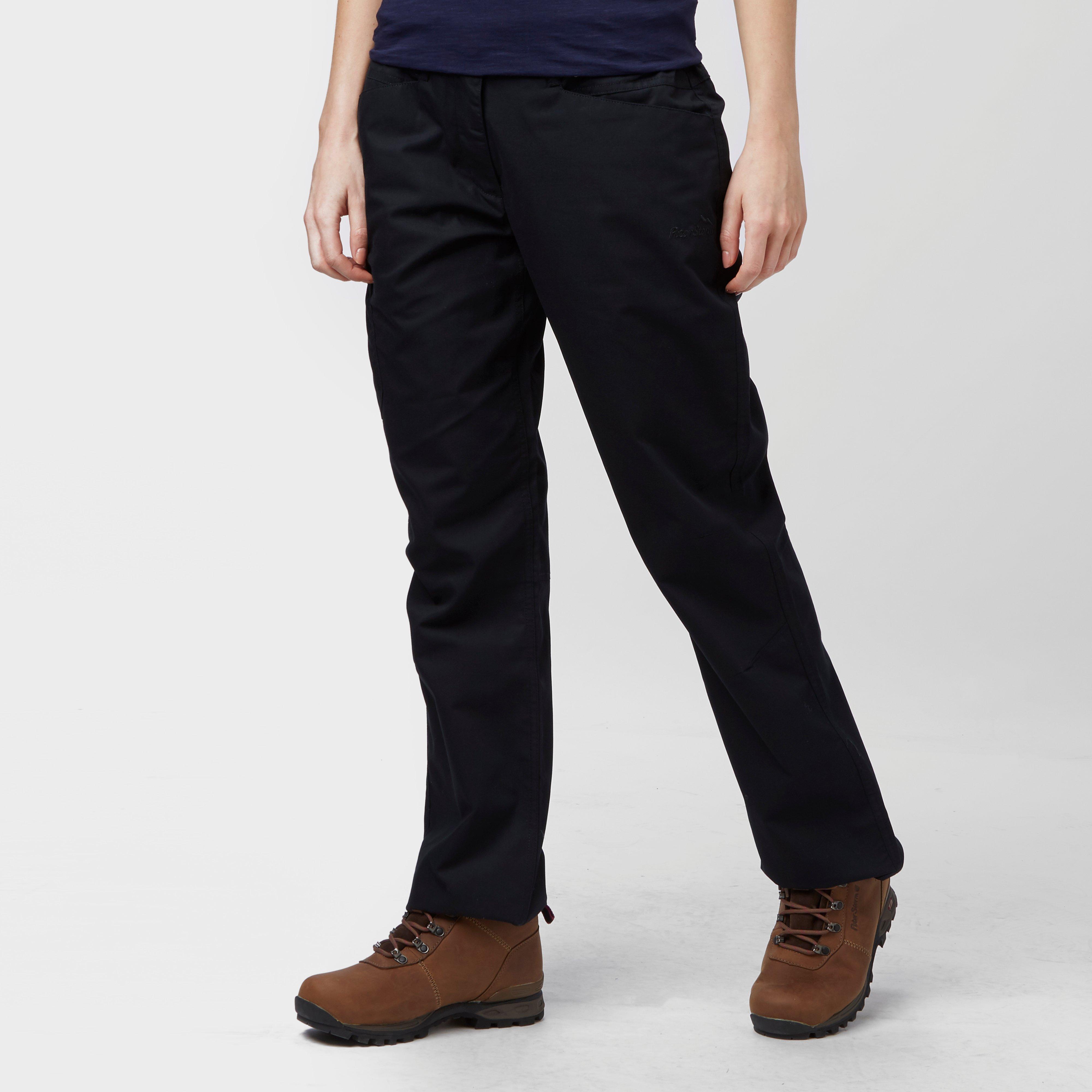 Peter Storm Peter Storm womens Ramble II Trousers (Long) - Black, Black