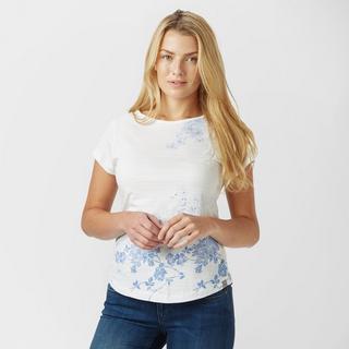 Women's Striped FloralT-Shirt