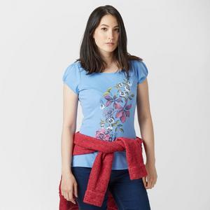 PETER STORM Women's BirdyFloralT-Shirt