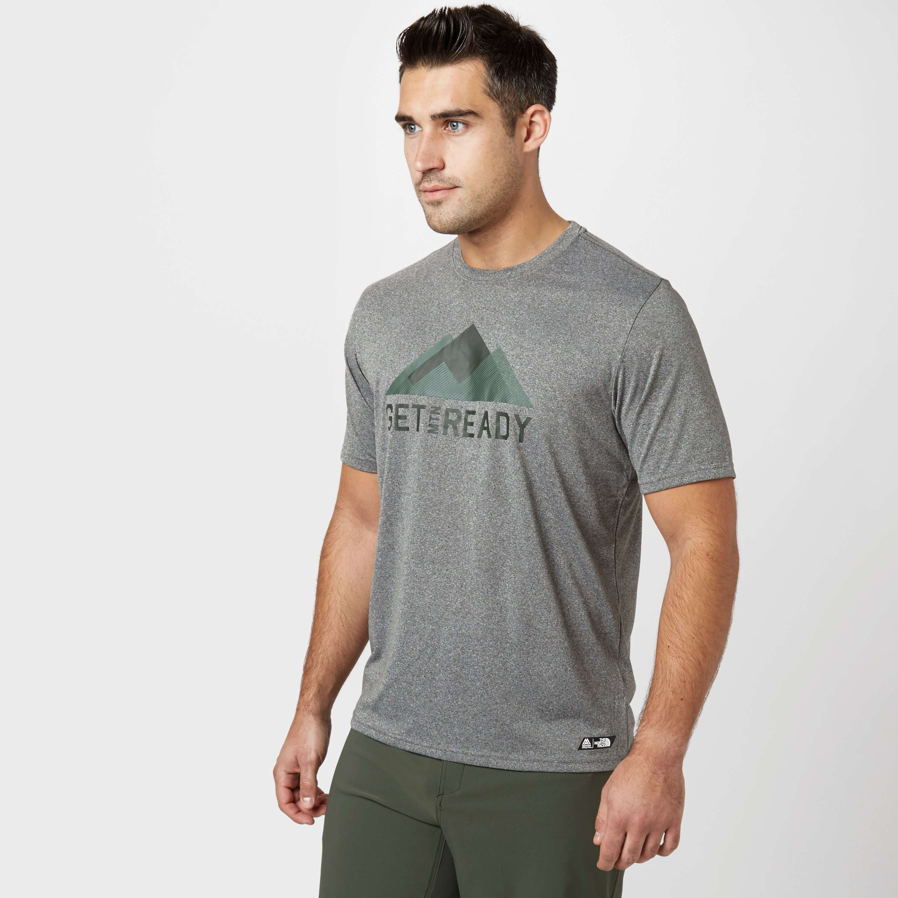 THE NORTH FACE Men's Mountain Athletics 'Get Mountain Ready' T-Shirt