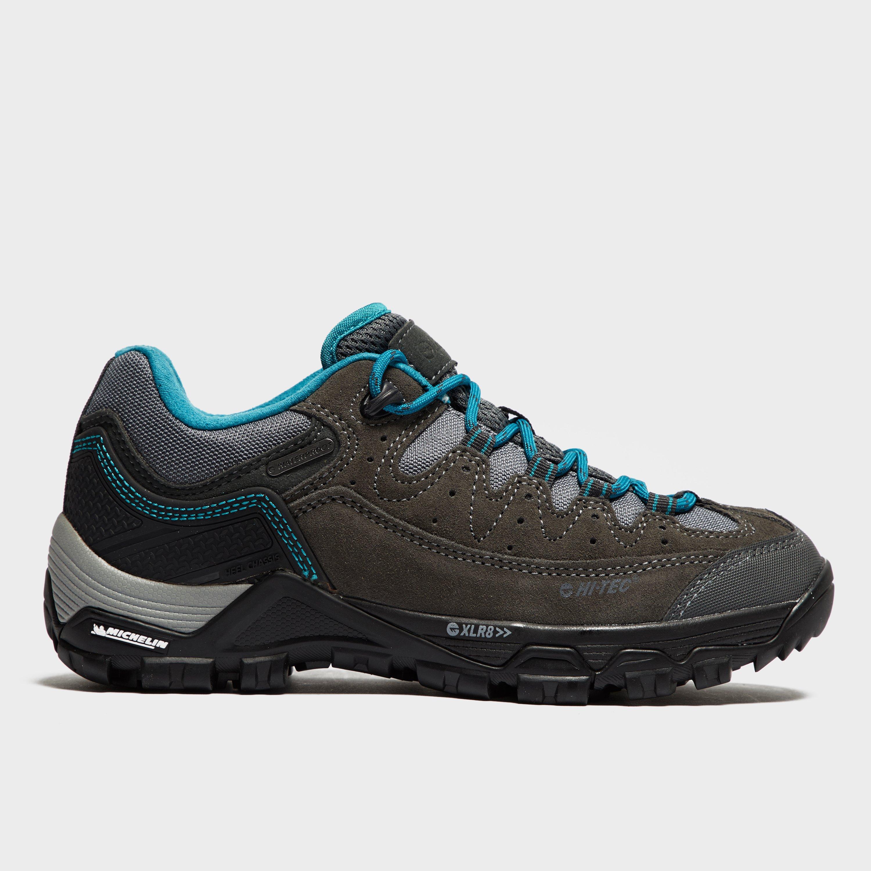 Hi Tec Hi Tec Womens OX Belmont Mid I Walking Shoes - Grey, Grey