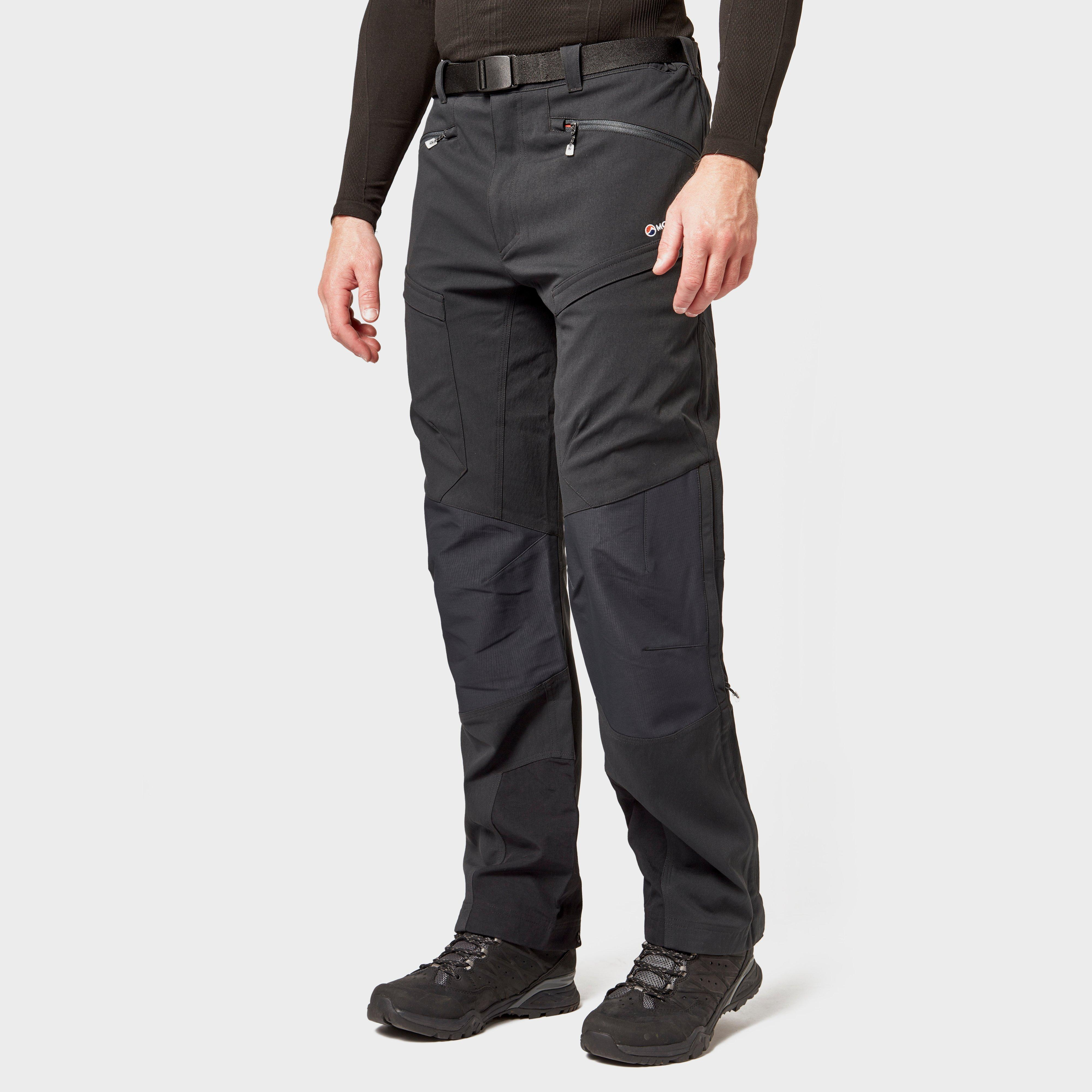 Montane Montane Mens Super Terra Pants - Black, Black