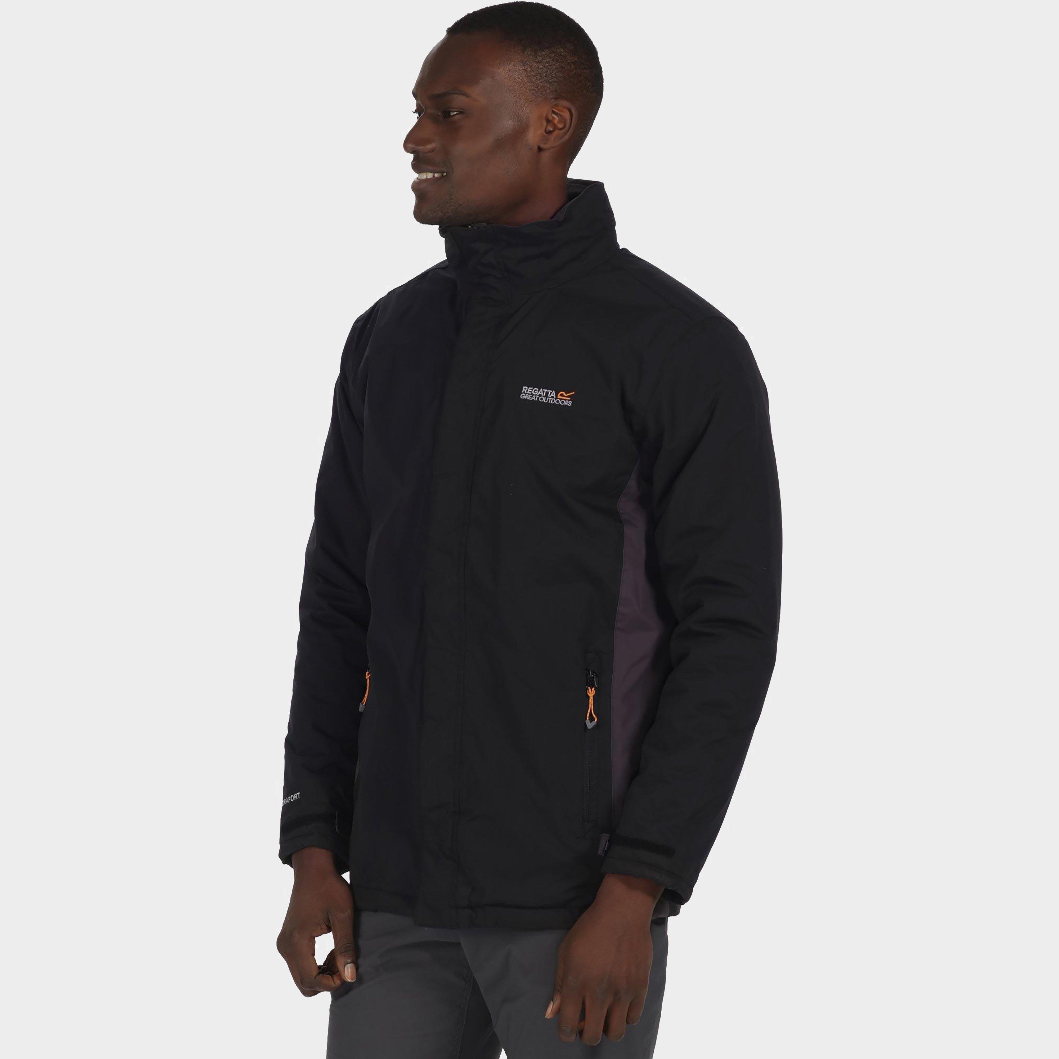 Regatta Mens Thornridge Waterproof Jacket Black