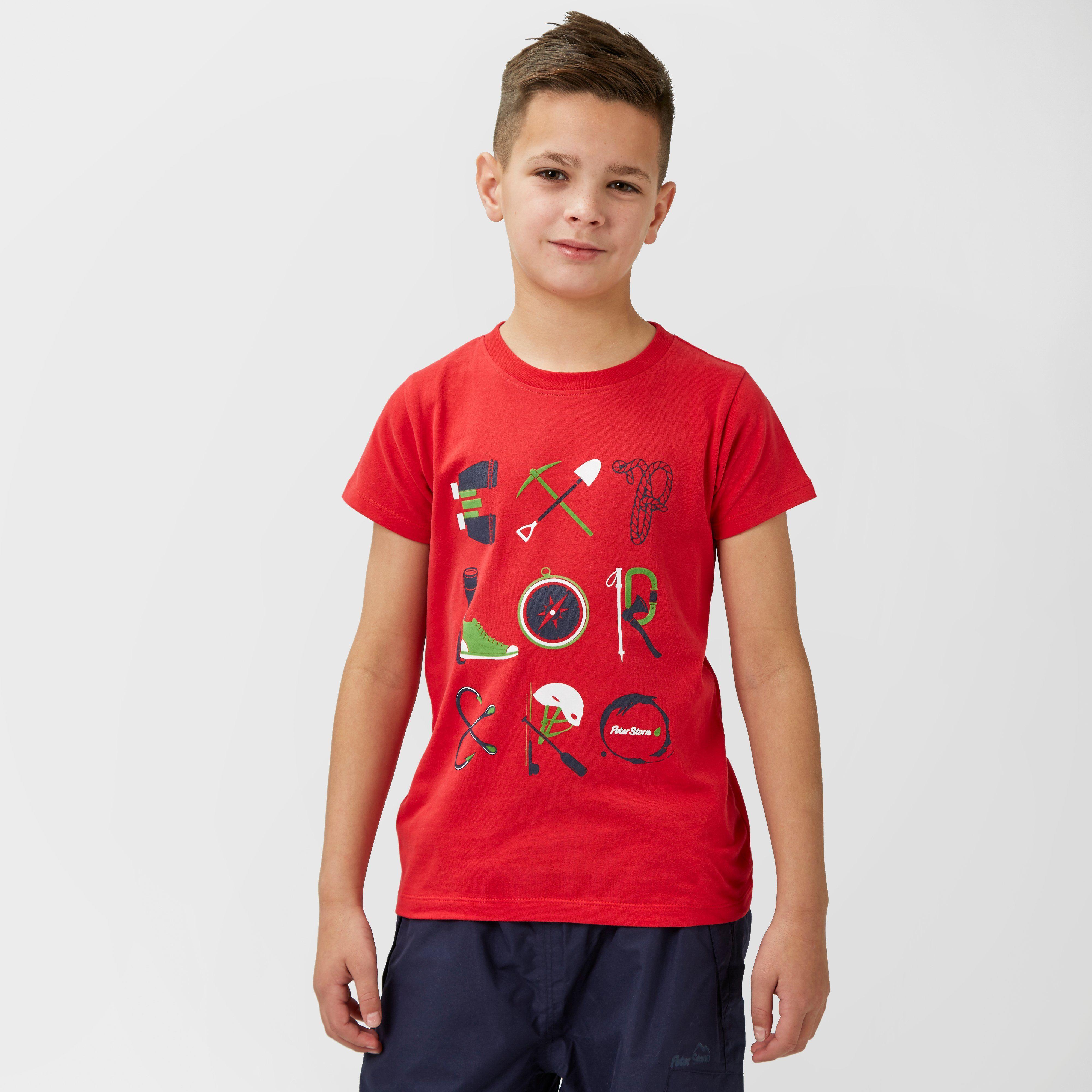 PETER STORM Boys Explorer T-Shirt
