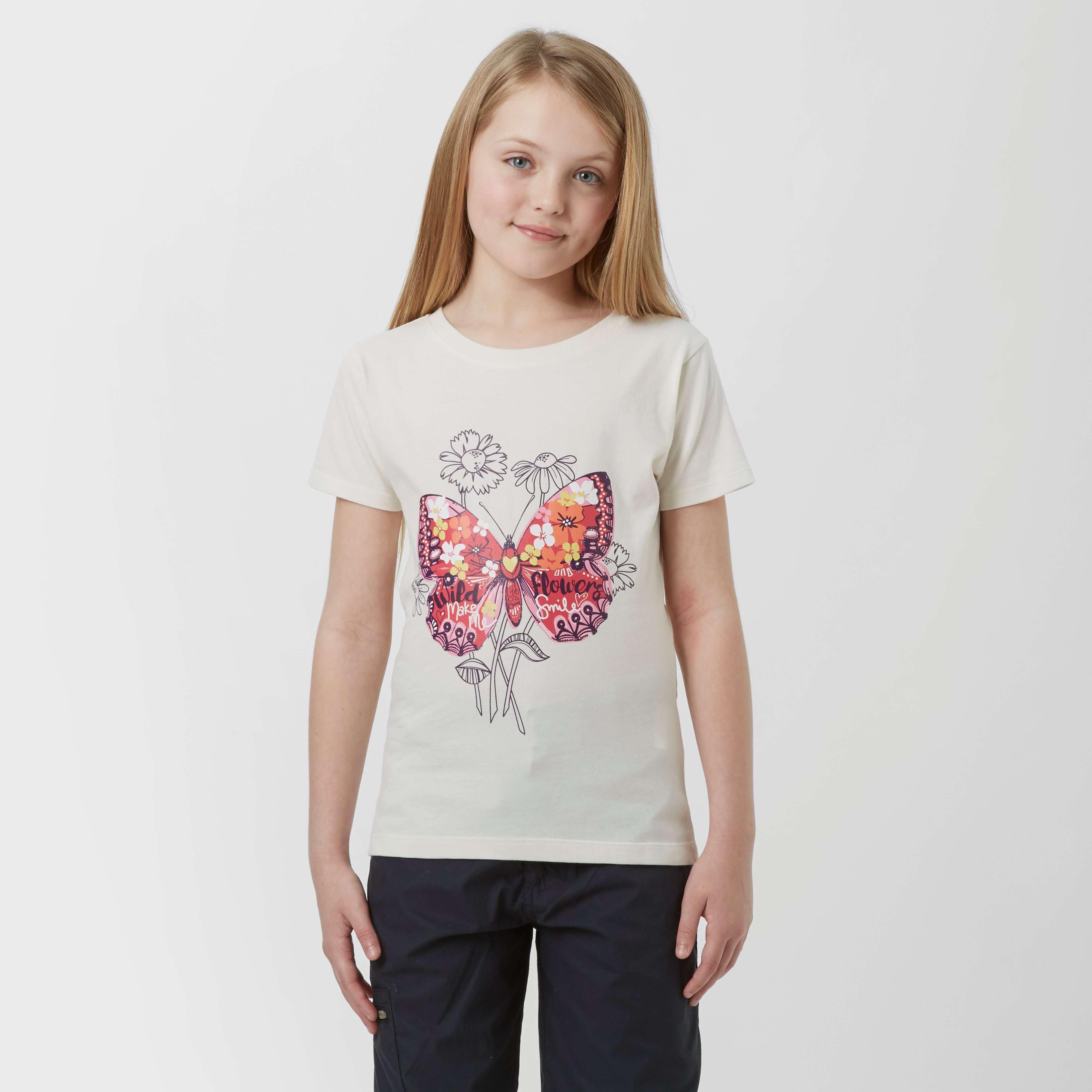 PETER STORM Girls' Butterfly T-shirt