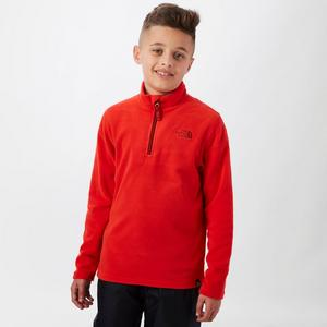 THE NORTH FACE Boy's Glacier Quarter-Zip Fleece