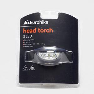 EUROHIKE 3 LED Head Torch