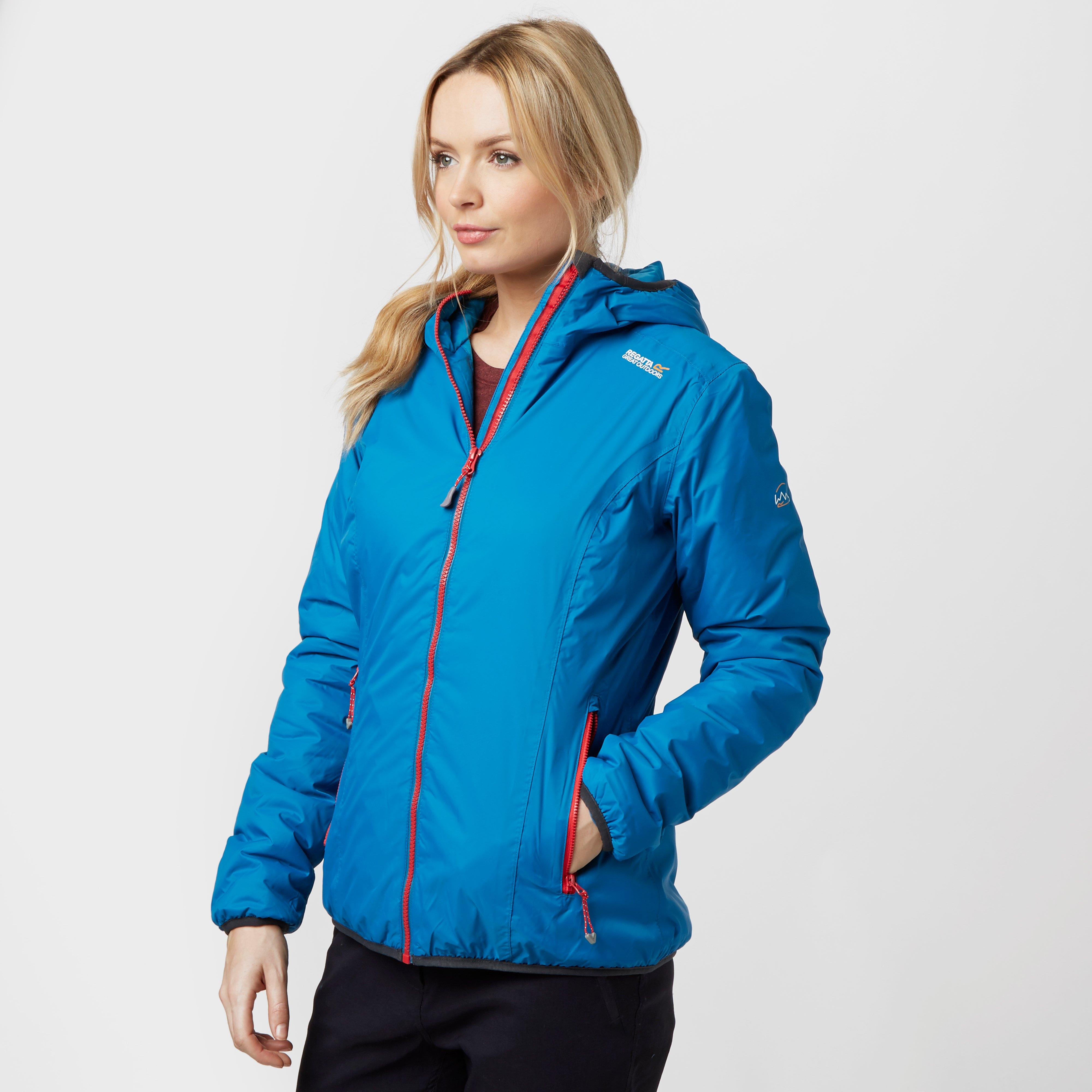 Regatta Womens Tuscan Waterproof Jacket Blue