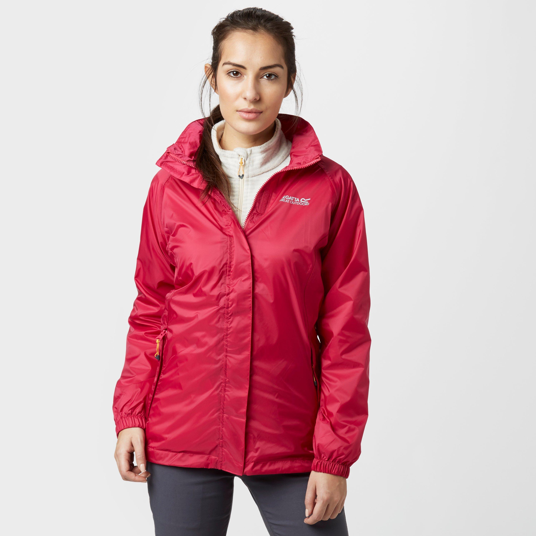 Regatta Womens Joelle IV Waterproof Jacket Pink