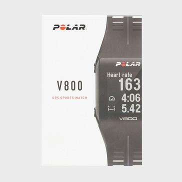 Black Polar V800 HR Multi-Sport Smart Watch