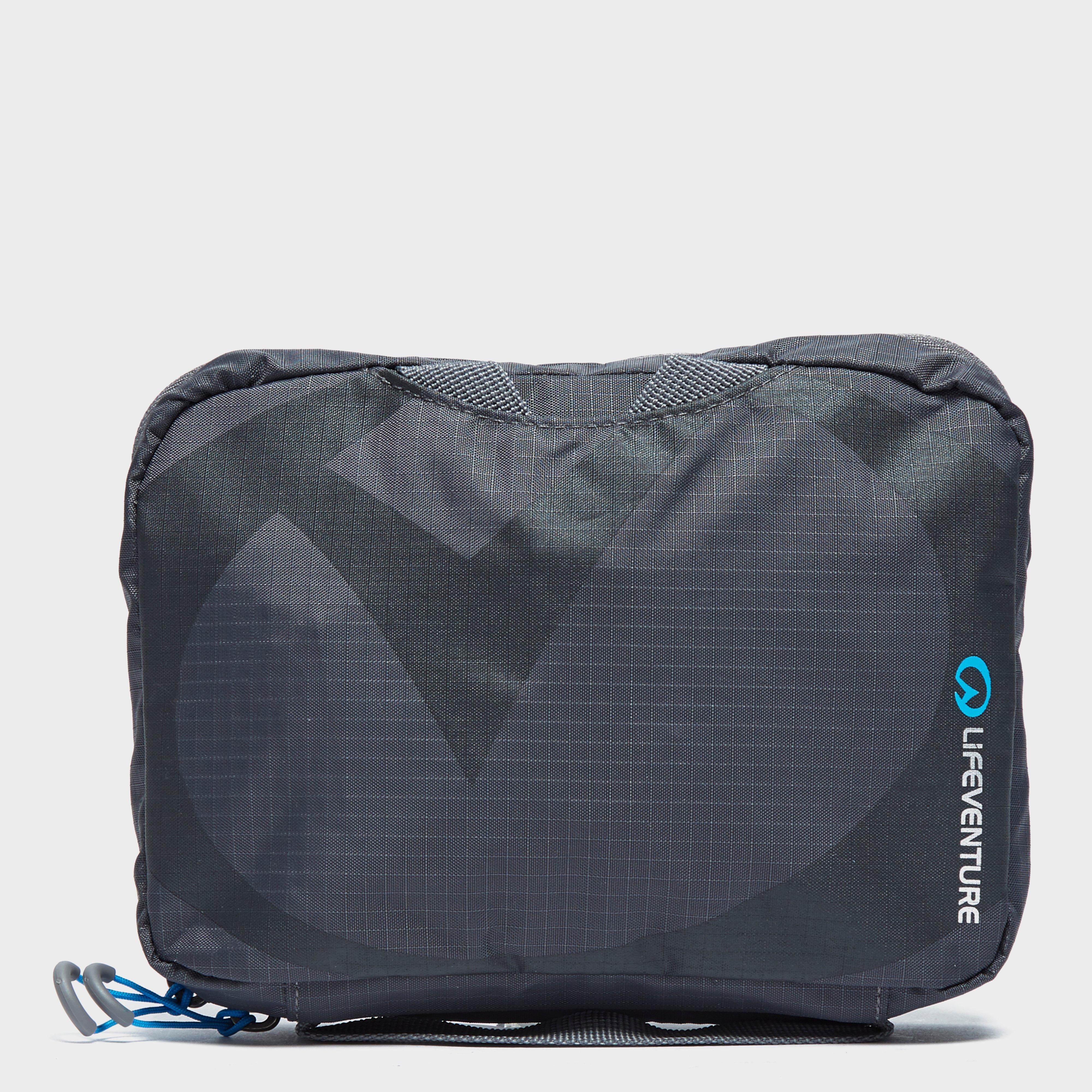 Lifeventure Lifeventure Travel Wash Bag (Small) - Grey, Grey