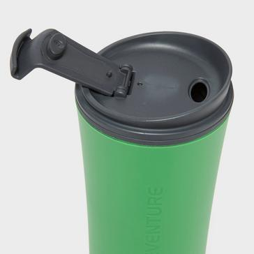 Green LIFEVENTURE Ellipse Travel Mug