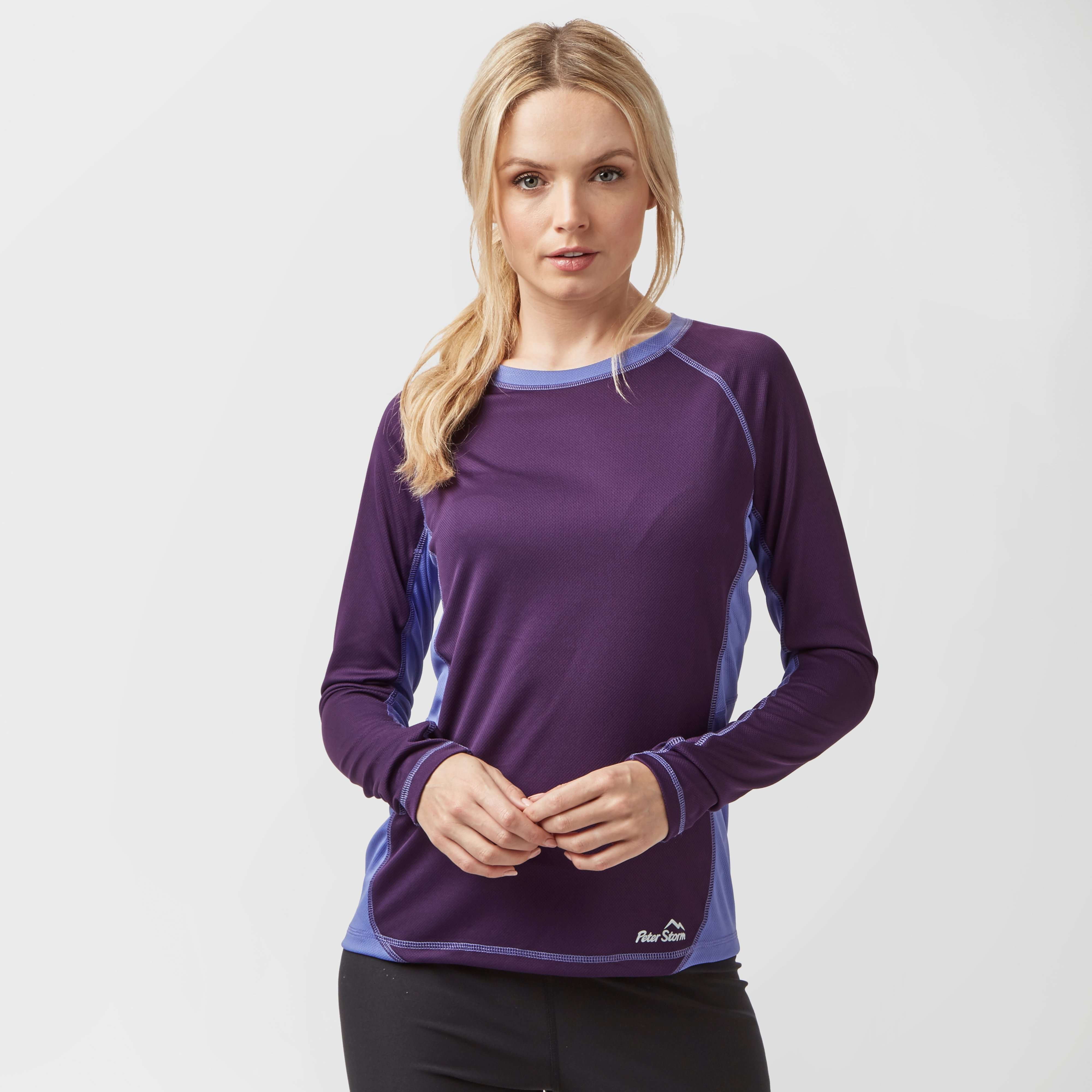 PETER STORM Women's Long Sleeve Tech Top