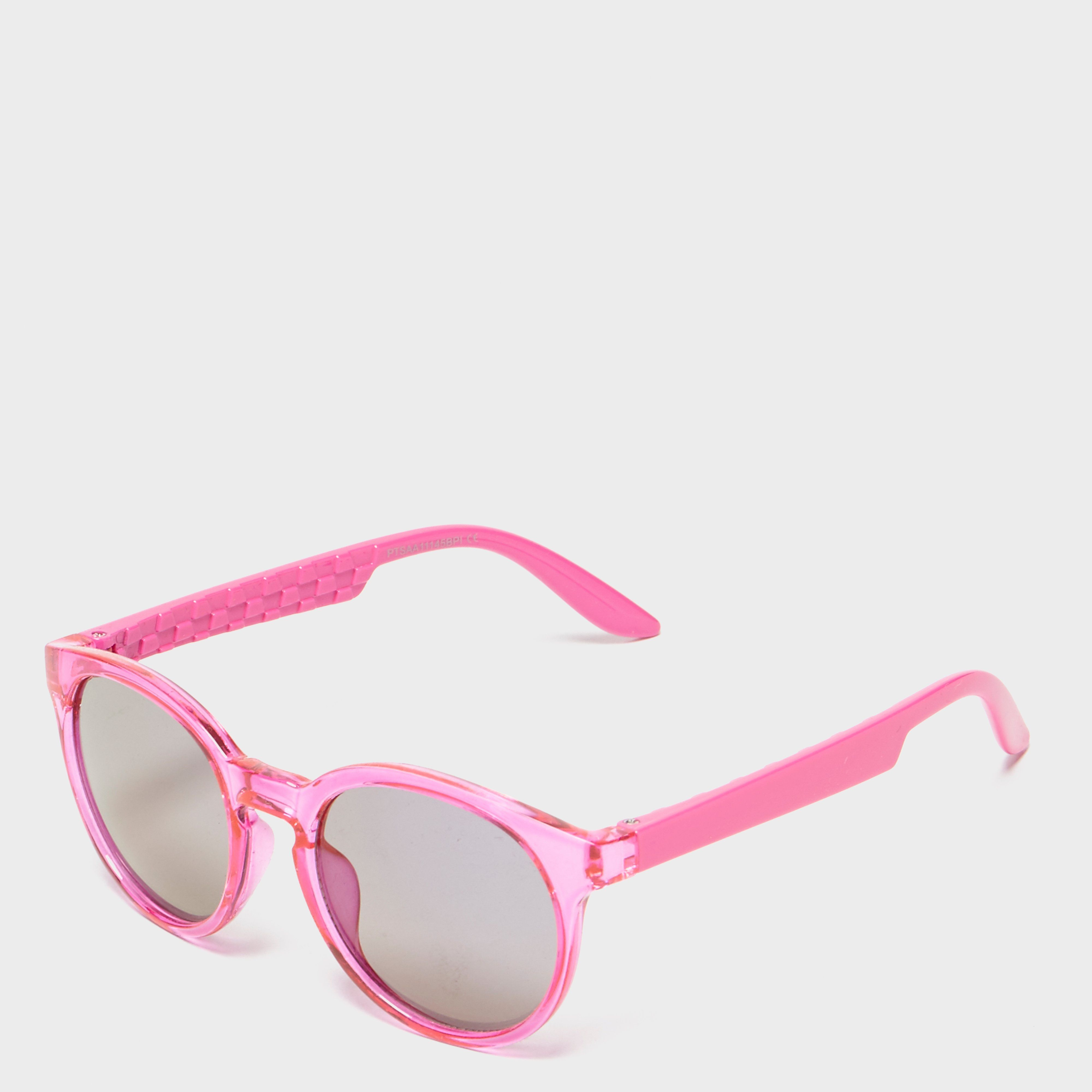 PETER STORM Girls Pink Preppy Sunglasses