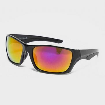 Black Peter Storm Men's Square Wrap Sunglasses