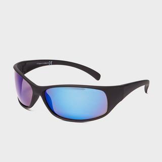 Men's Rubberised Wrap Around Sunglasses