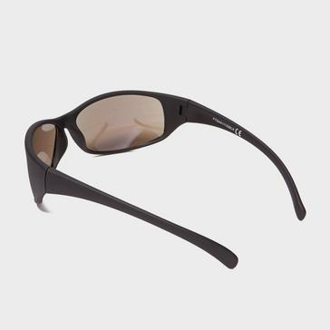 Black Peter Storm Men's Rubberised Wrap Around Sunglasses