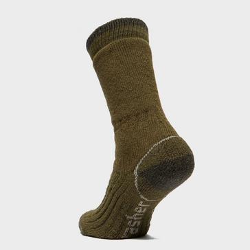 Khaki Brasher Men's Trekker Socks