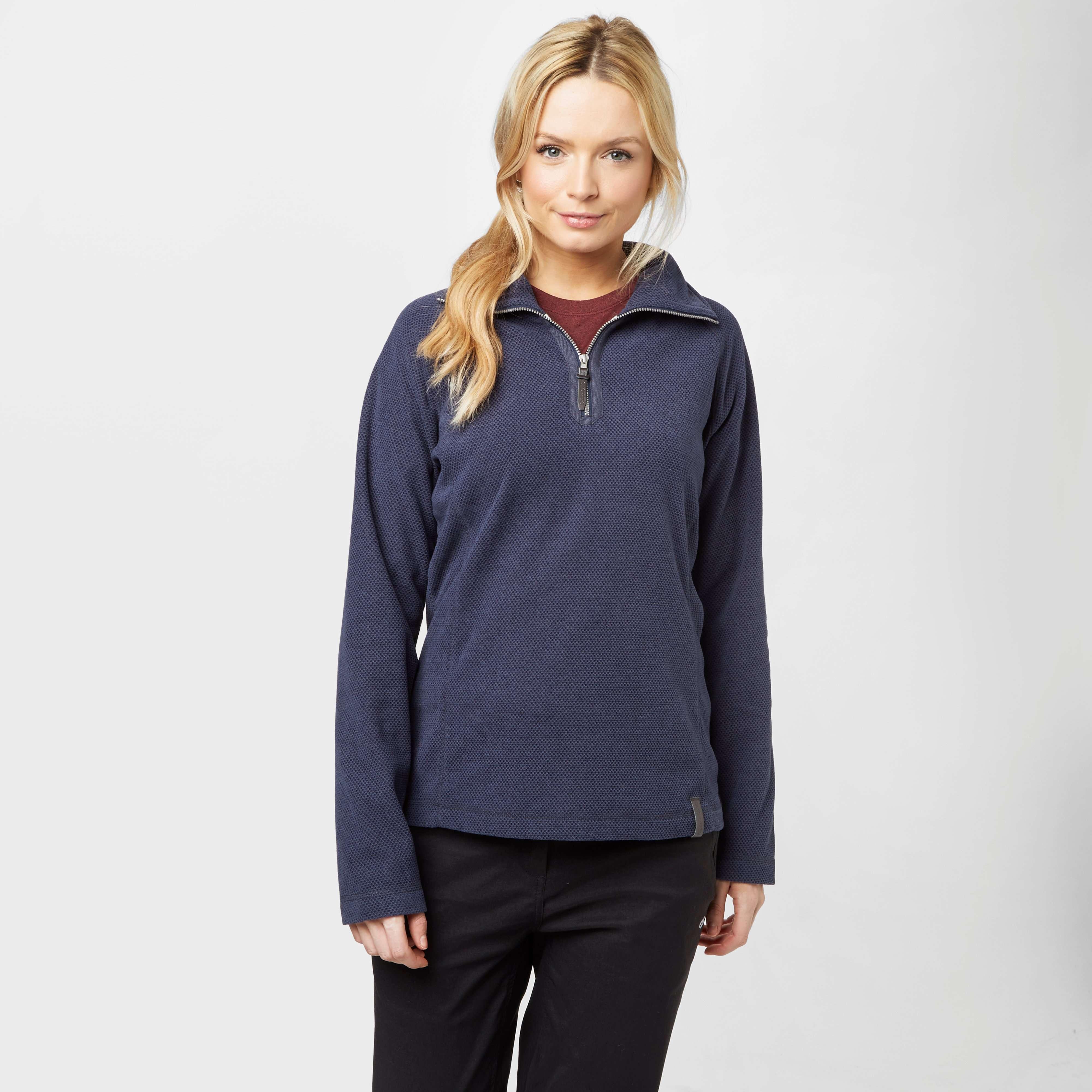 CRAGHOPPERS Women's Delia Half Zip Fleece