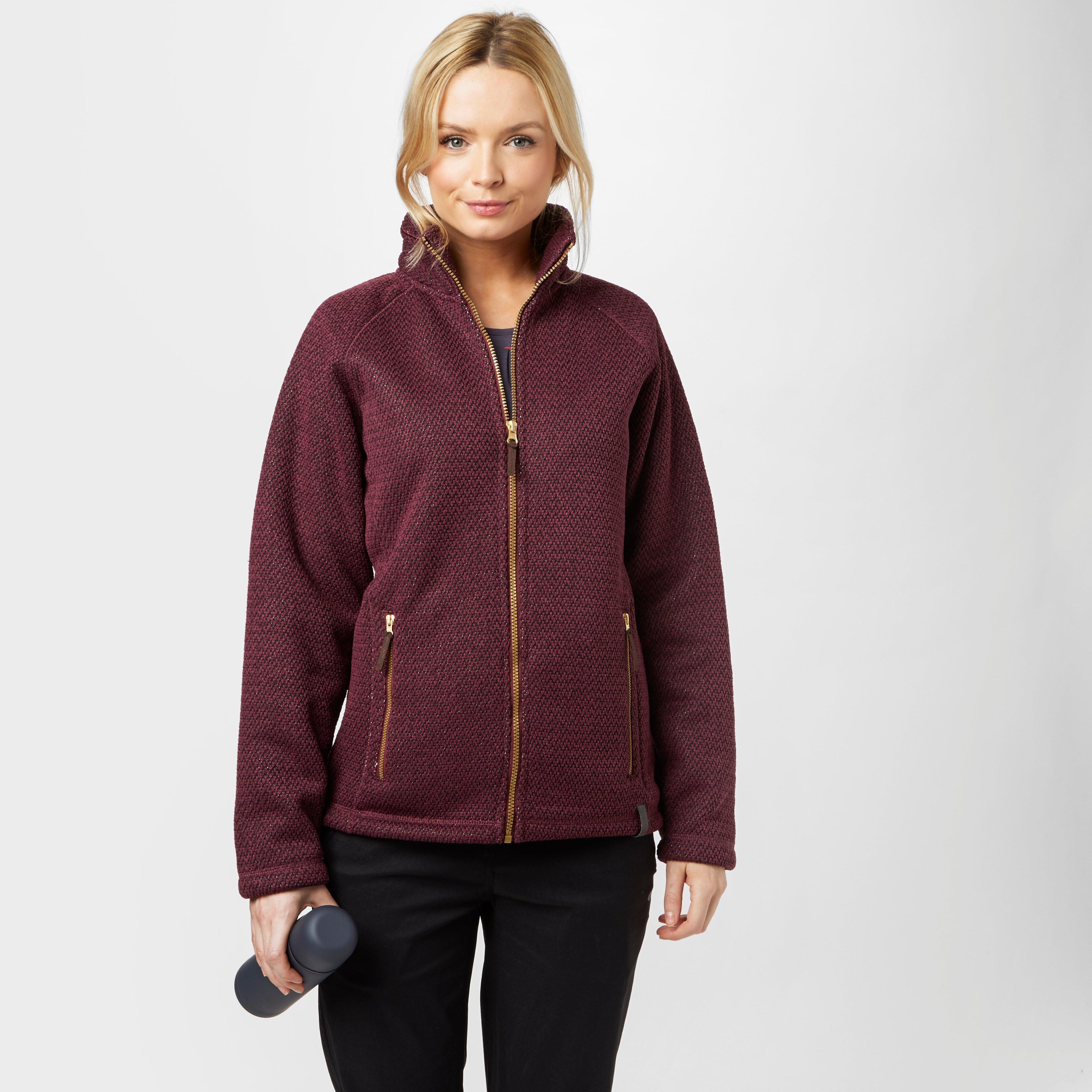 Craghoppers Craghoppers womens Cayton Fleece Jacket - Purple, Purple